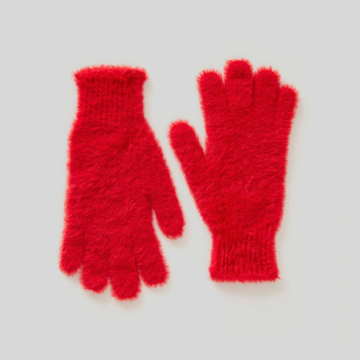 Γάντια από νήμα από μακρύ πέλος