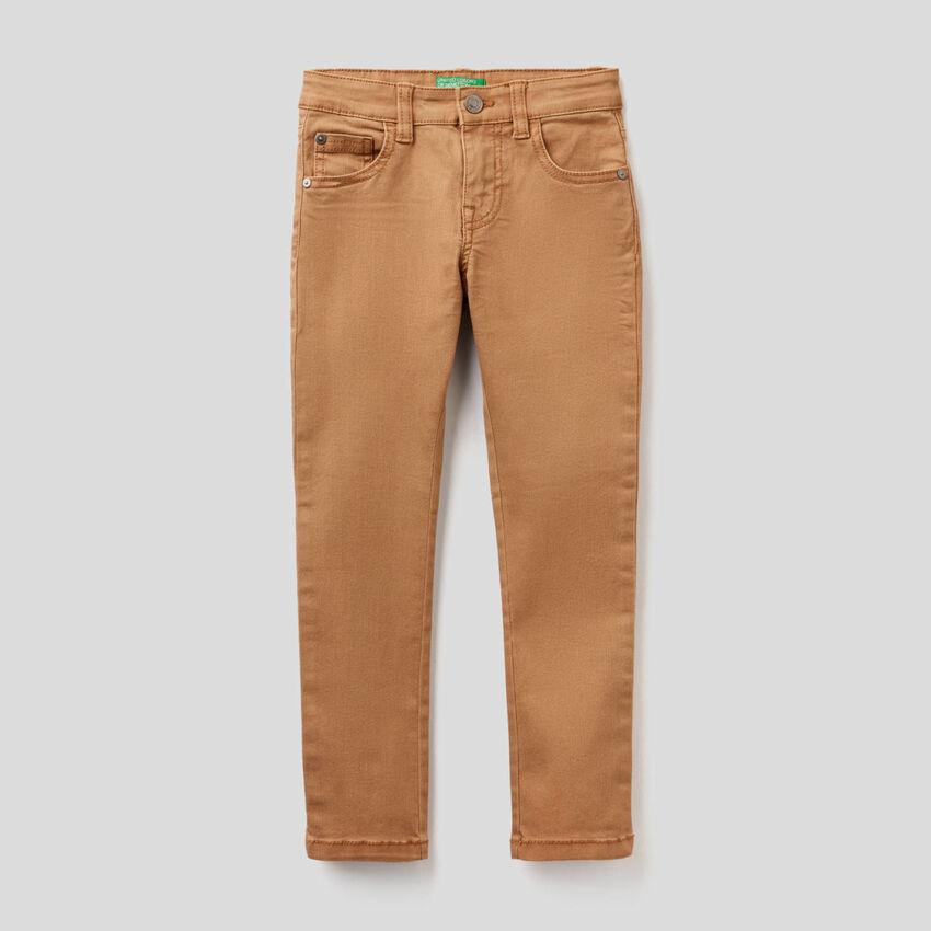 Παντελόνι skinny με πέντε τσέπες