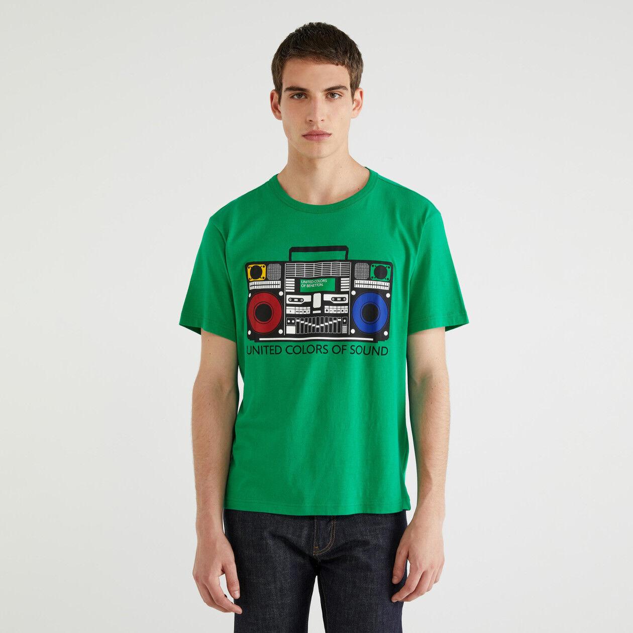 T-shirt από ζέρσεϊ με τύπωμα