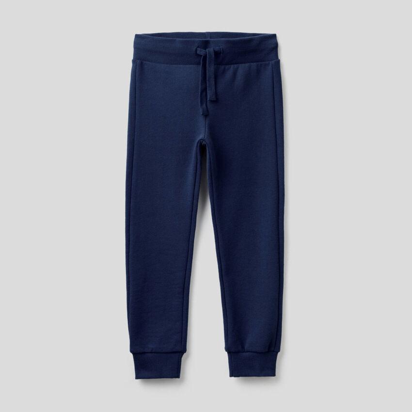 Sweatpants in pure cotton