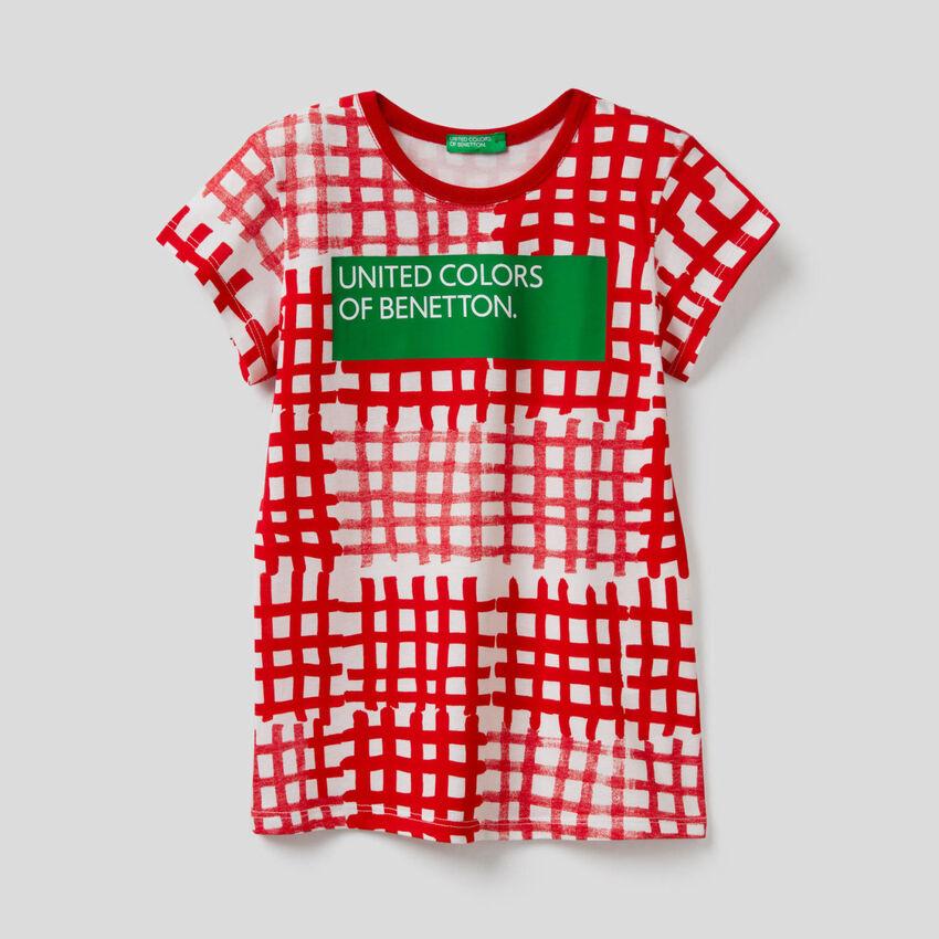 T-shirt all over με λογότυπο