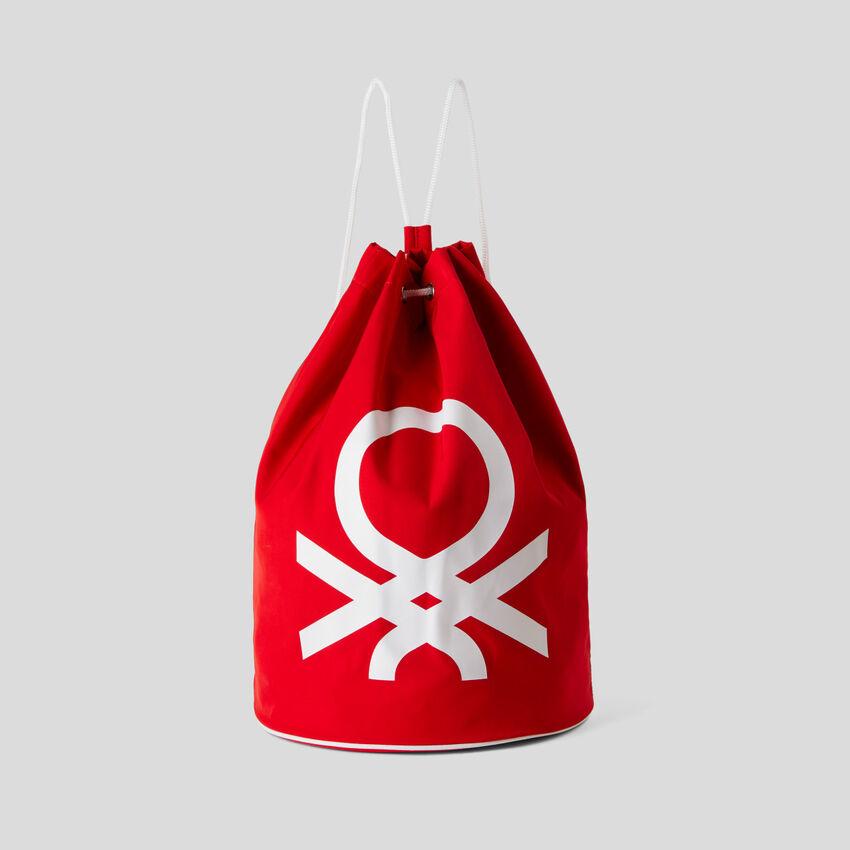 Σακίδιο unisex με μάξι λογότυπο