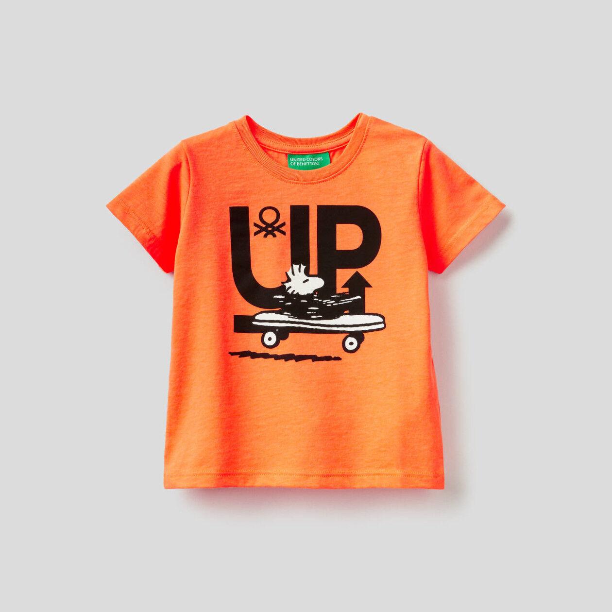 T-shirt με τύπωμα Peanuts