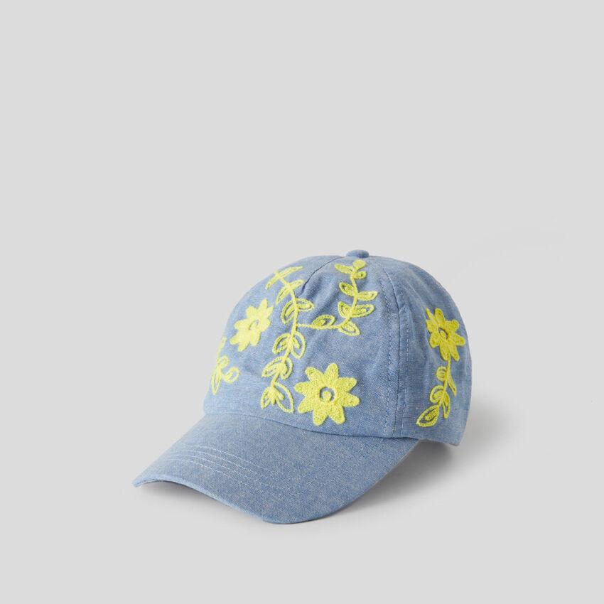 Καπέλο baseball γαλάζιο