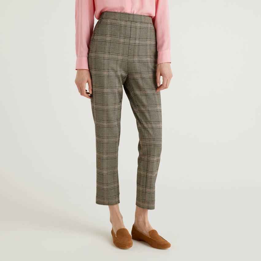 Παντελόνι με σχέδια Prince of Wales