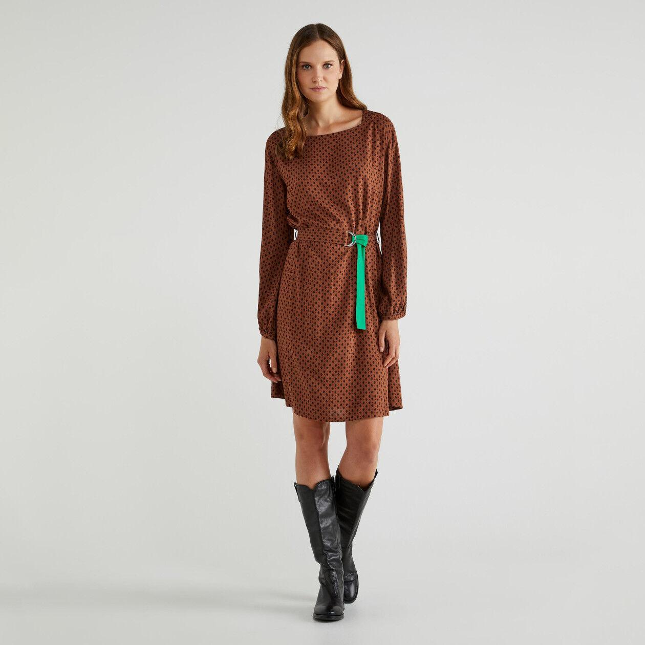 Φόρεμα με μανίκια μπαλούν