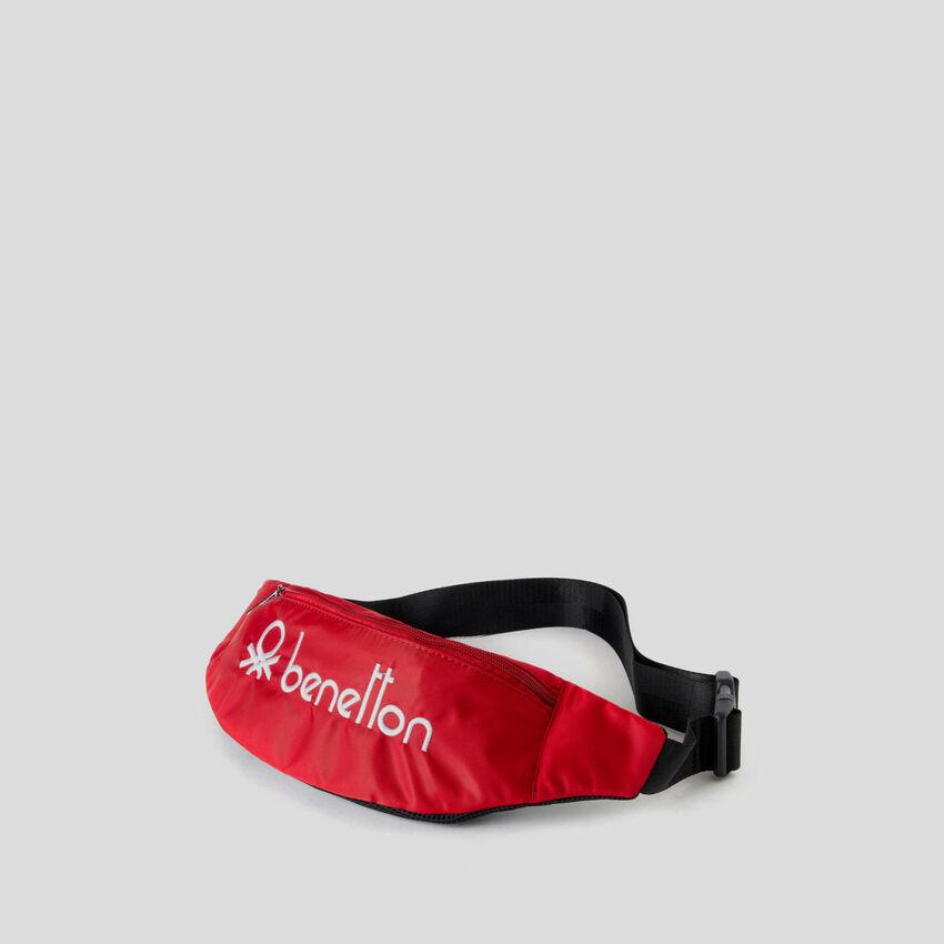 Τσάντα μέσης unisex με κεντητό λογότυπο