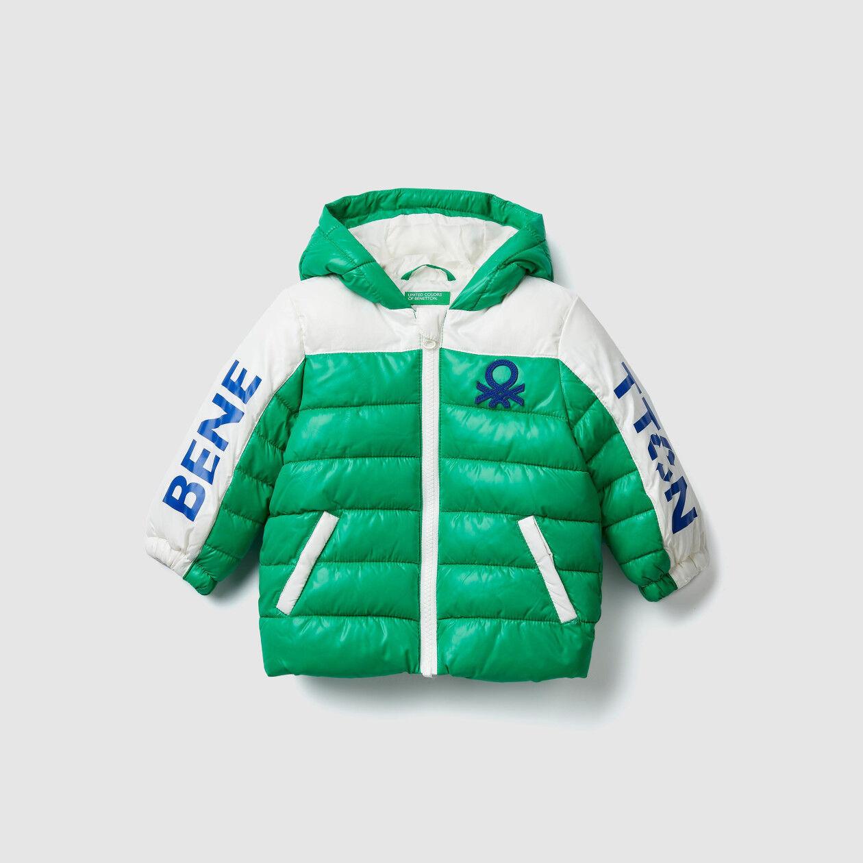 """Μπουφάν padded """"Eco-Recycle"""" με λογότυπο"""