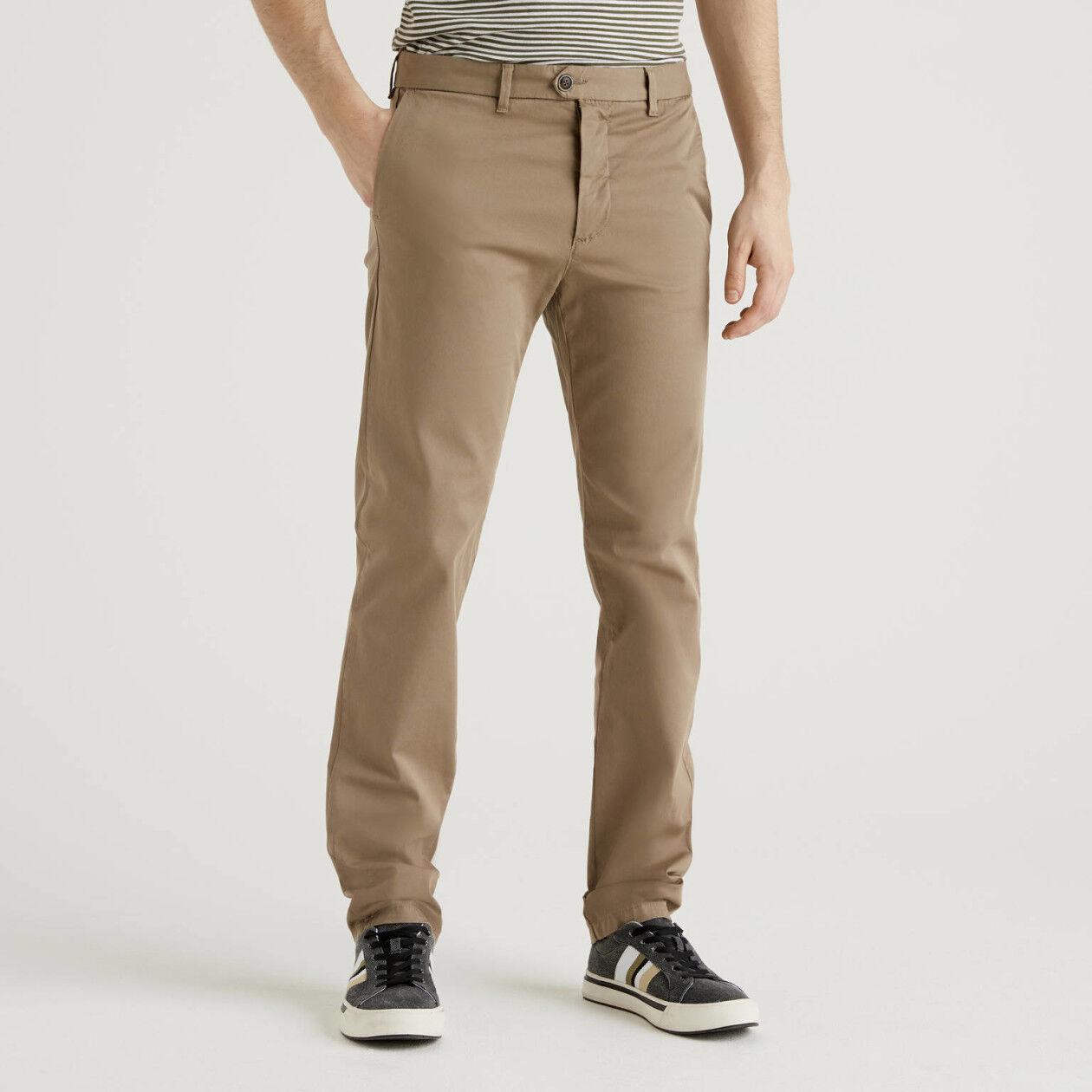 Chino stretch slim fit dove grey