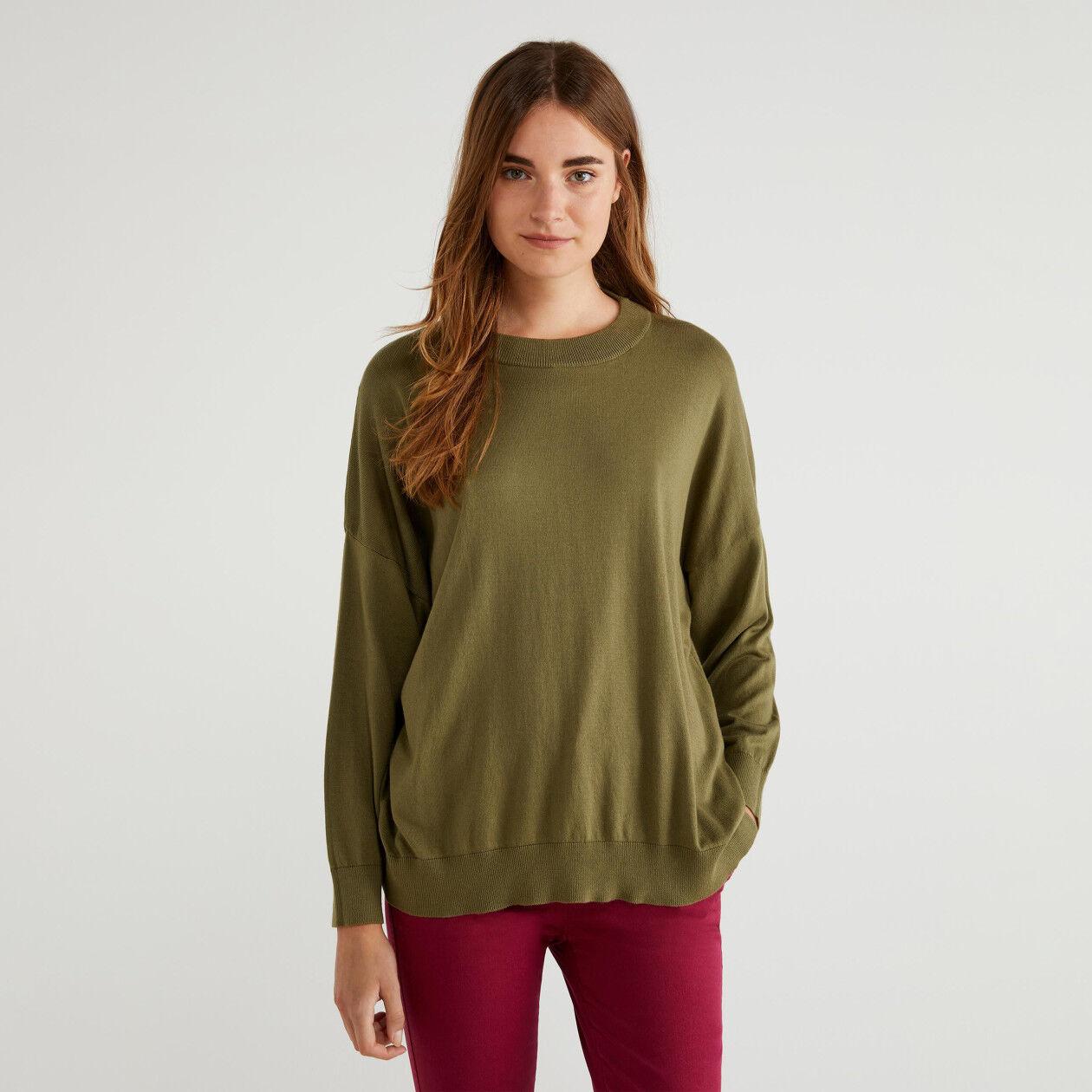 Μπλούζα από βαμβακερό και Modal®