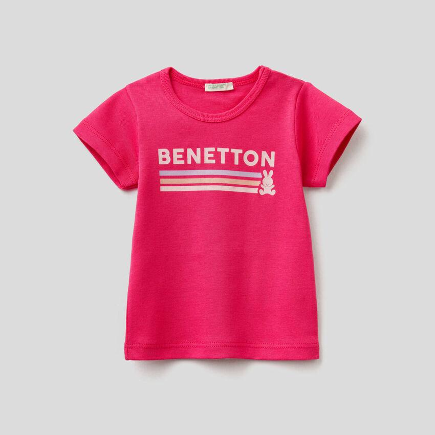 T-shirt 100% οργανικό βαμβακερό