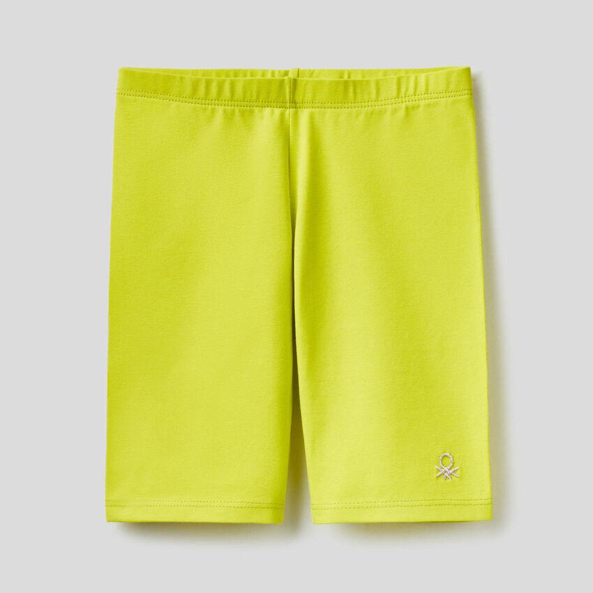 Παντελόνι κοντό από βαμβακερό stretch