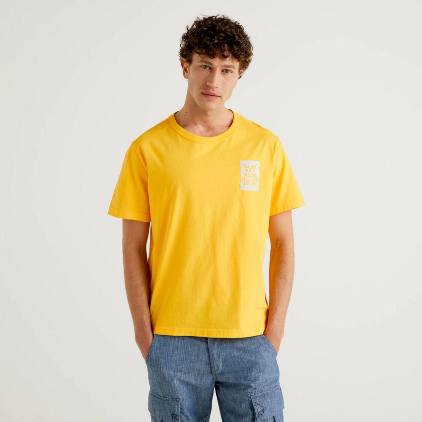 T-shirt με τύπωμα από οργανικό βαμβακερό