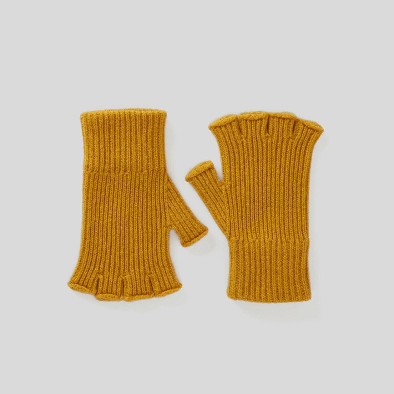 Γάντια με ριπ ύφανση χωρίς δάχτυλα