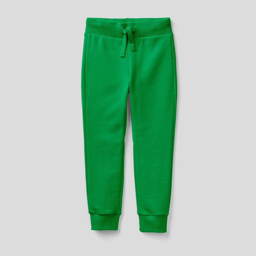 Παντελόνι φούτερ αθλητικό πράσινο