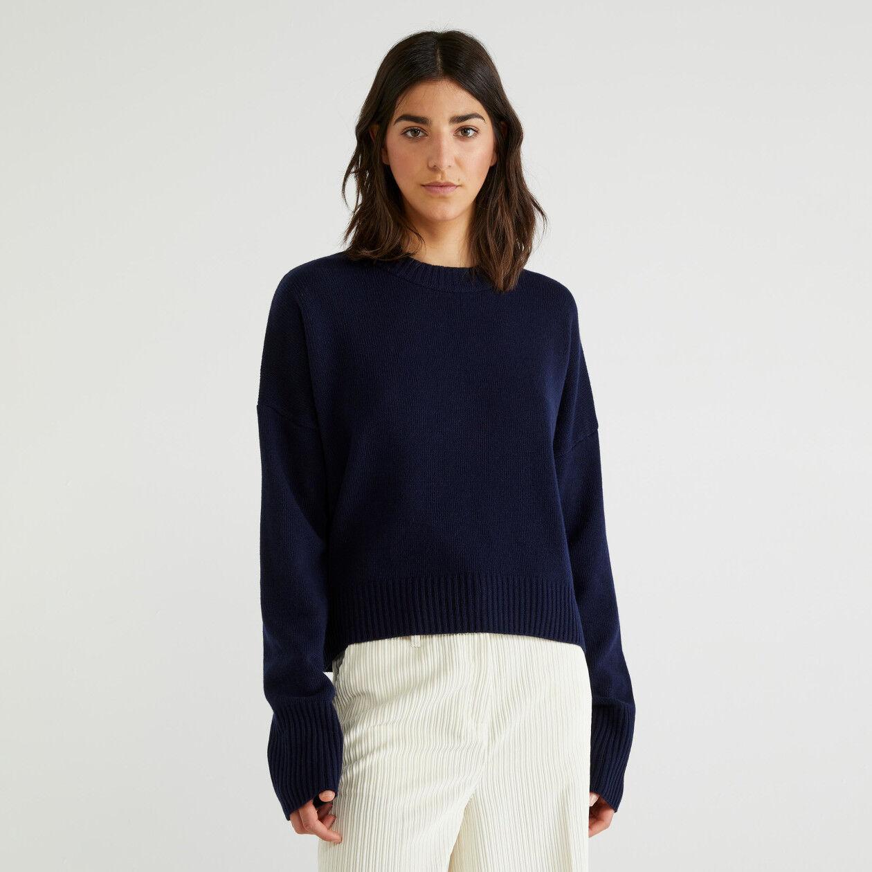 Μπλούζα από ανάμεικτο μάλλινο