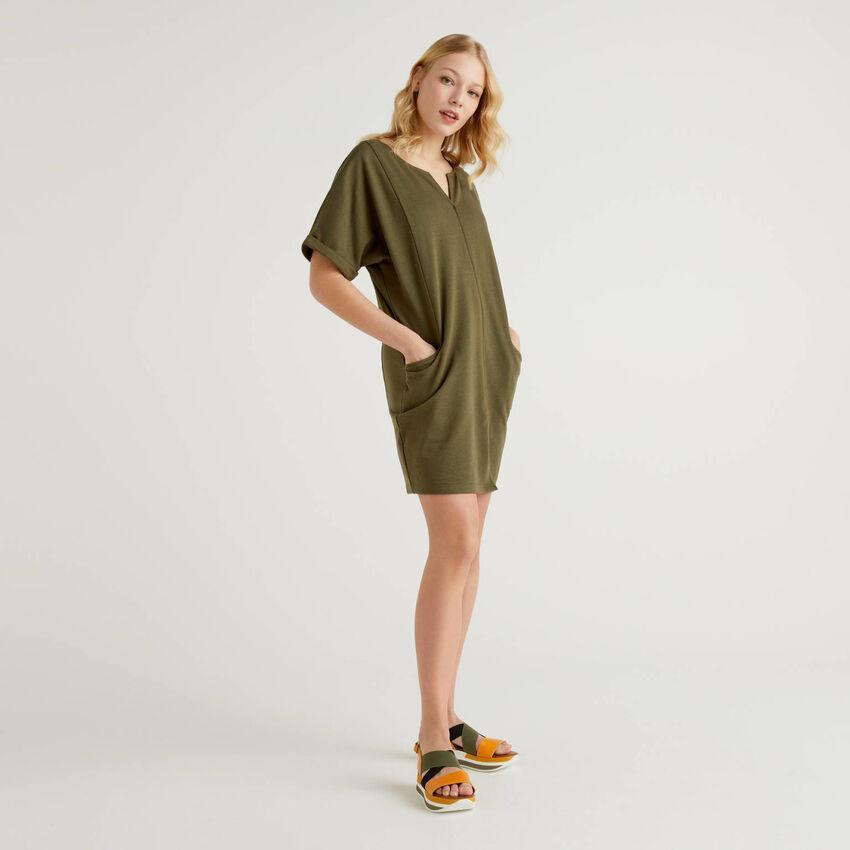 Φόρεμα φούτερ ελαφρύ