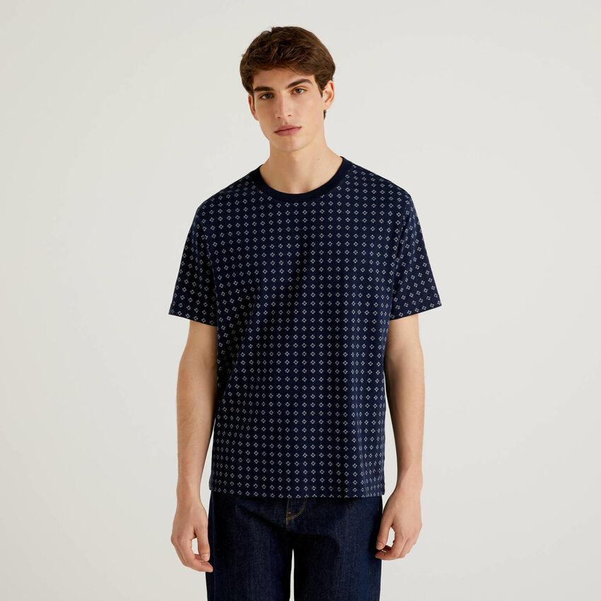 T-shirt με σχέδια από 100% βαμβακερό
