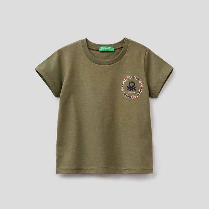 T-shirt με τσεπάκι από οργανικό βαμβακερό