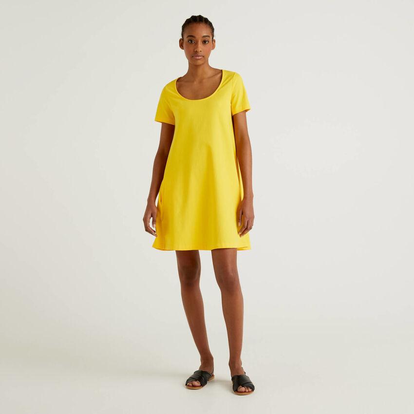Φόρεμα από βαμβακερό stretch