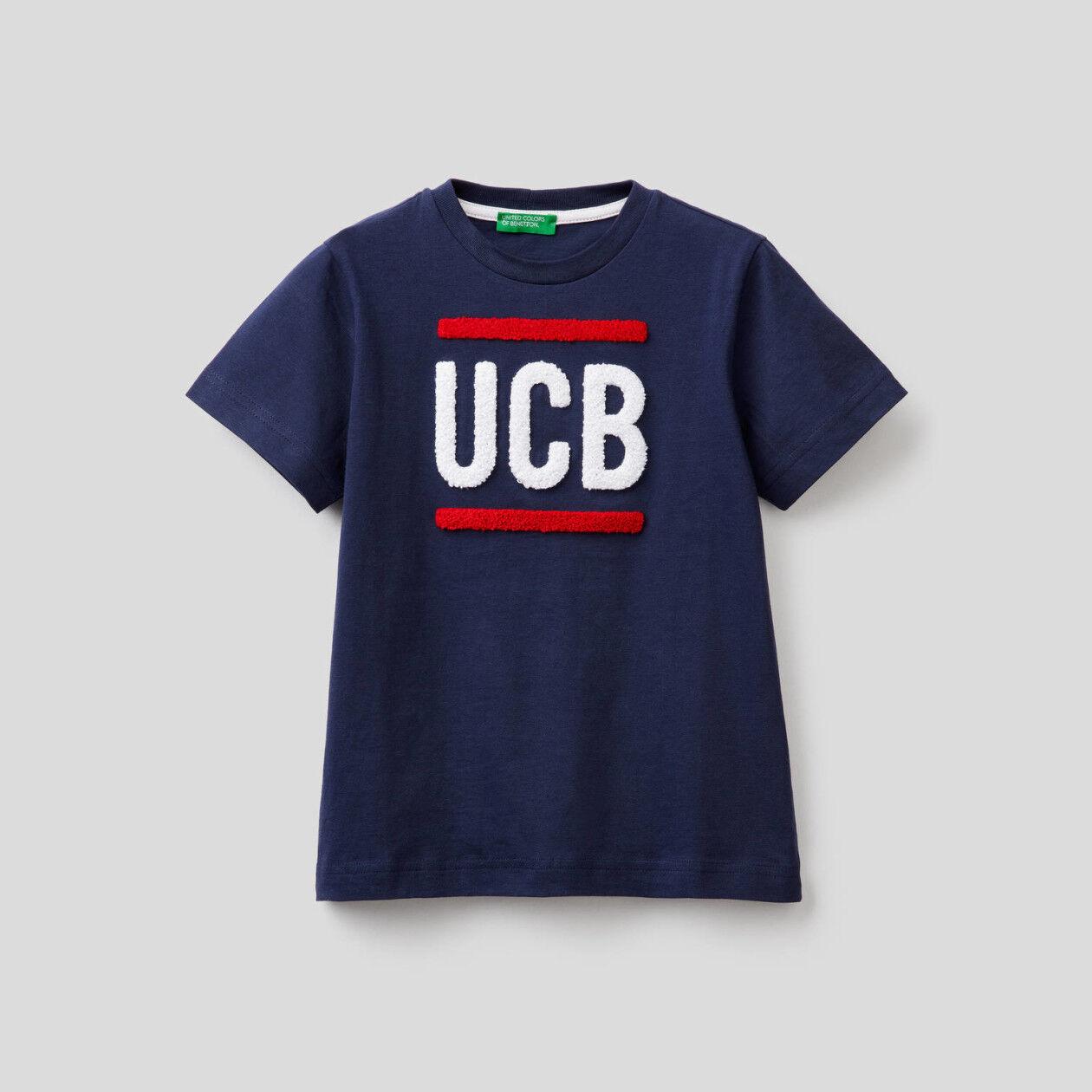 T-shirt 100% βαμβακερό με λογότυπο