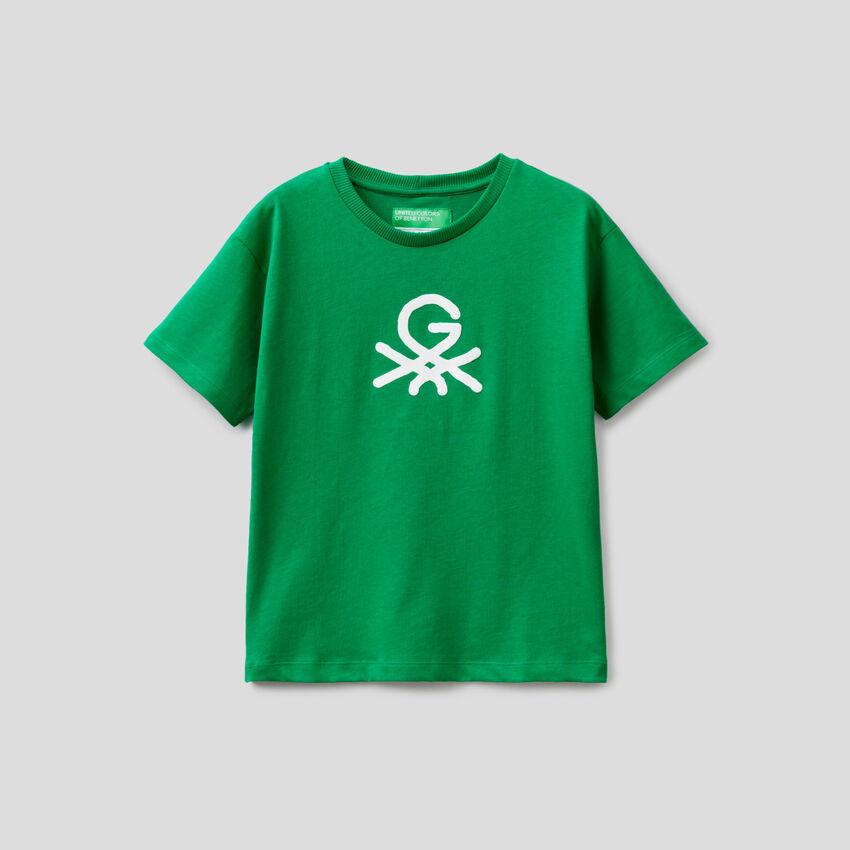 T-shirt unisex πράσινο με τύπωμα by Ghali
