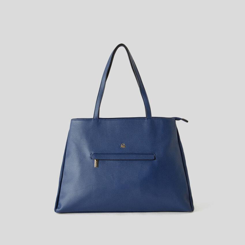 Shopping bag με διπλή θήκη