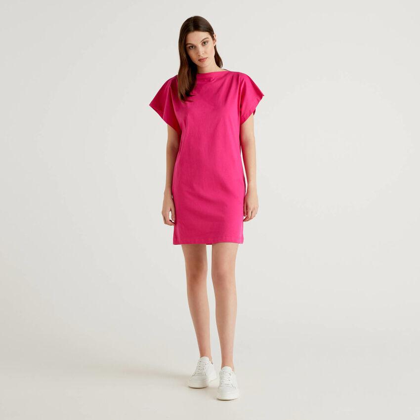 Φόρεμα κοντό με μανίκια κιμονό