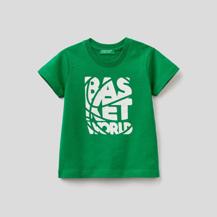 T-shirt με τυπώματα από οργανικό βαμβακερό