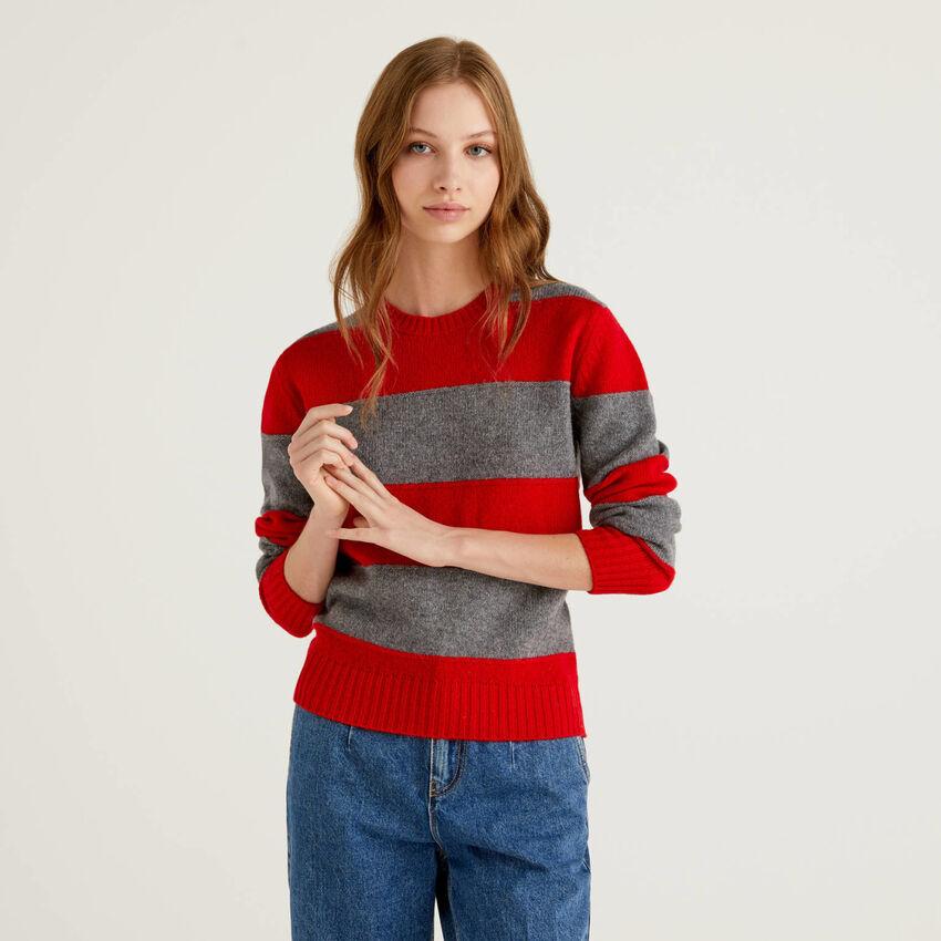 Μπλούζα από αγνό μαλλί Shetland
