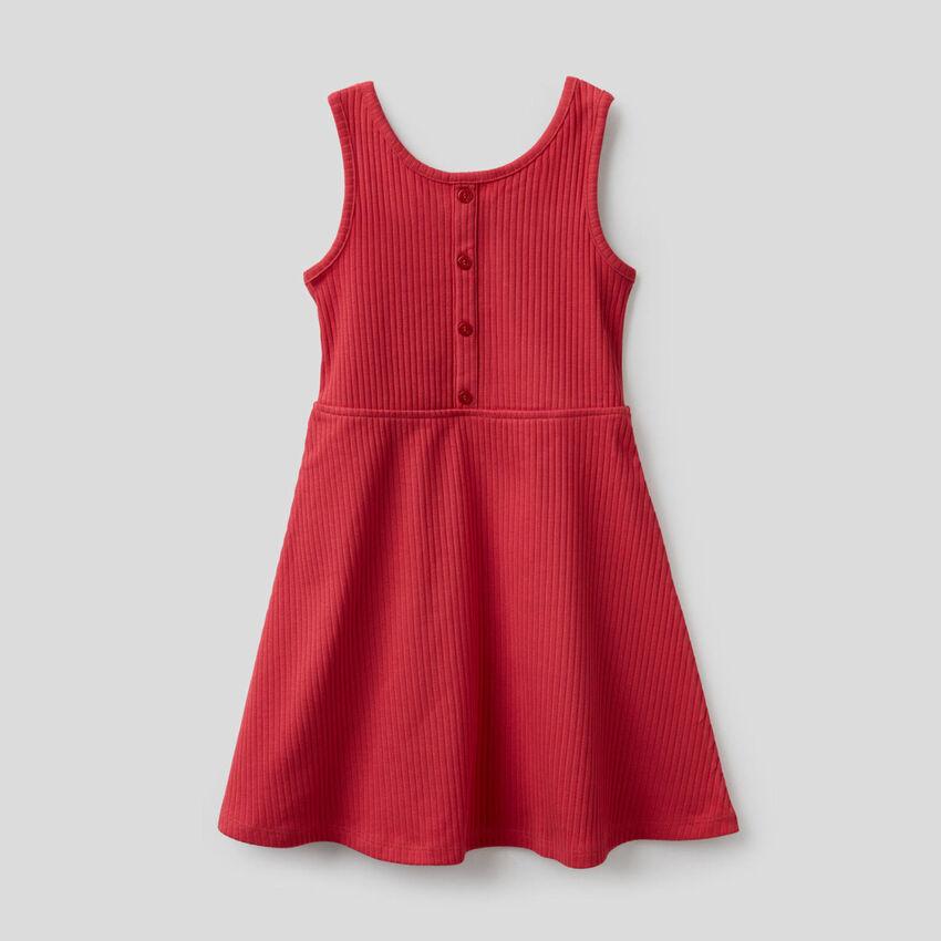 Φόρεμα καλοκαιρινό με ριπ ύφανση