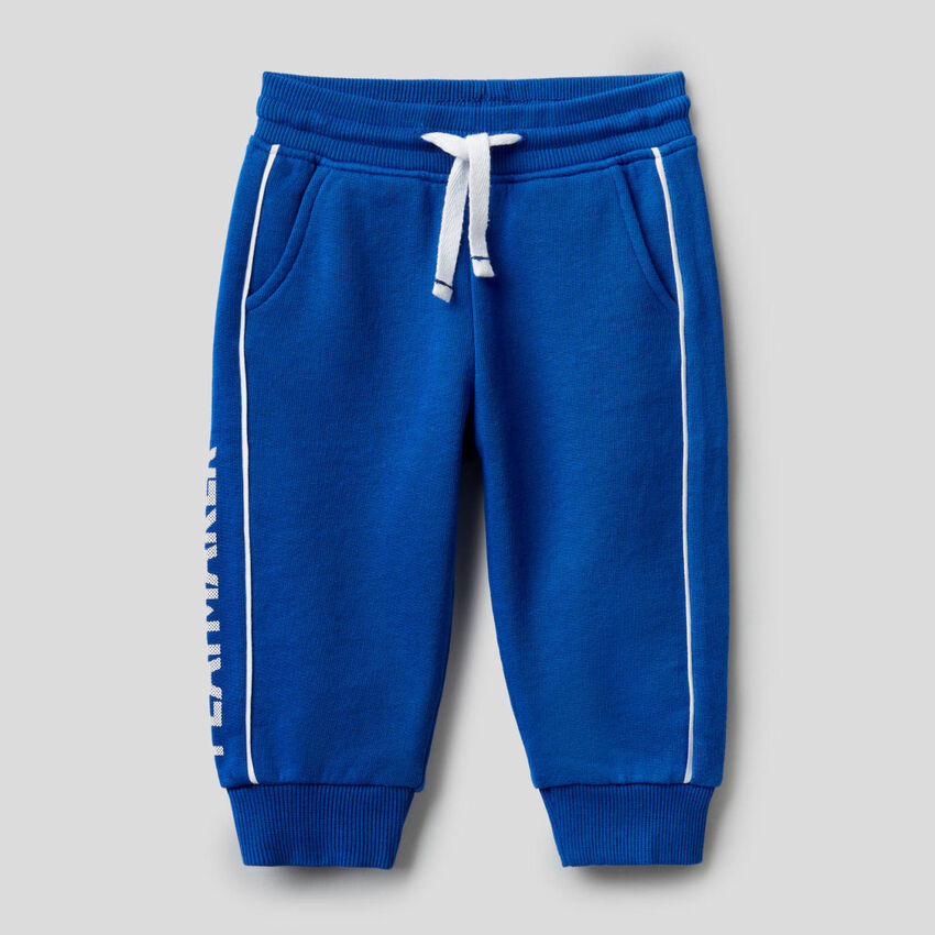 Παντελόνι φούτερ 100% βαμβακερό με τύπωμα
