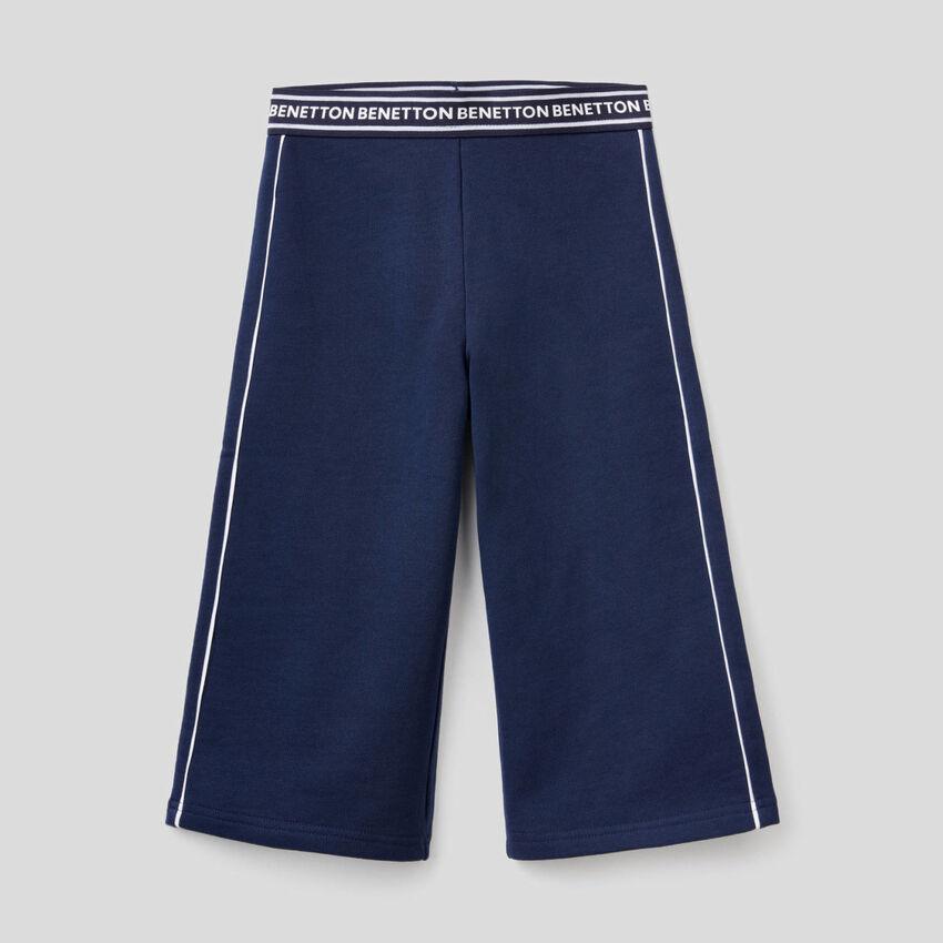 Παντελόνι φούτερ από 100% βαμβακερό