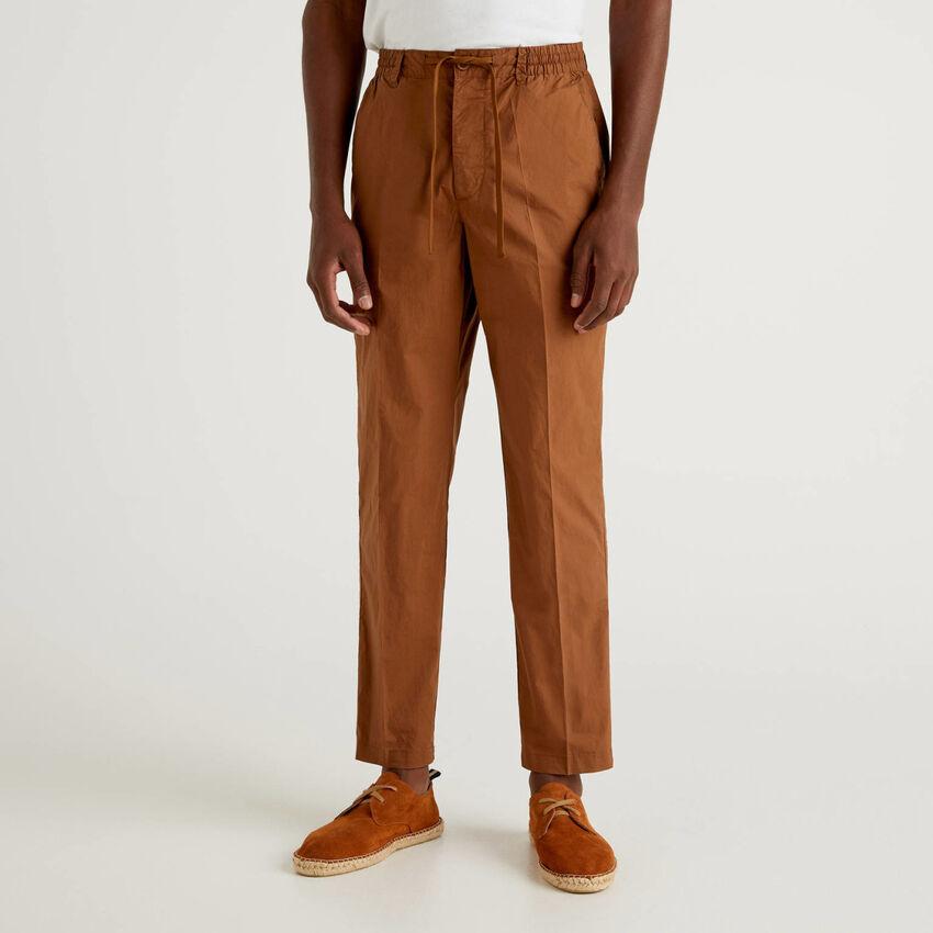 Παντελόνι ελαφρύ με κορδόνι