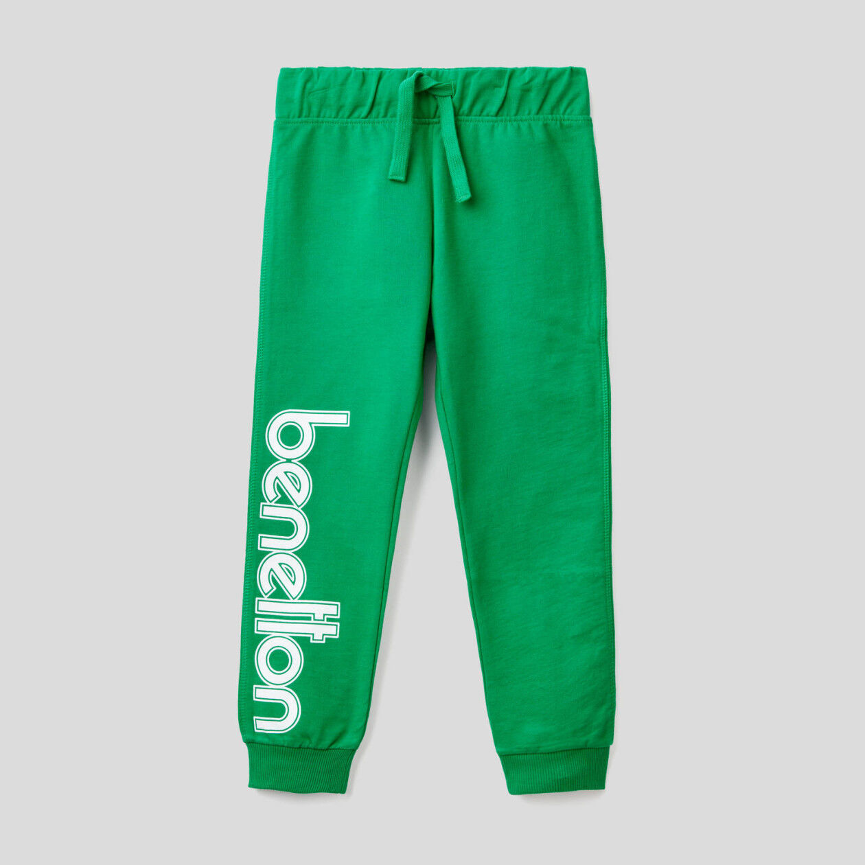 Παντελόνι φούτερ 100% βαμβακερό με λογότυπο