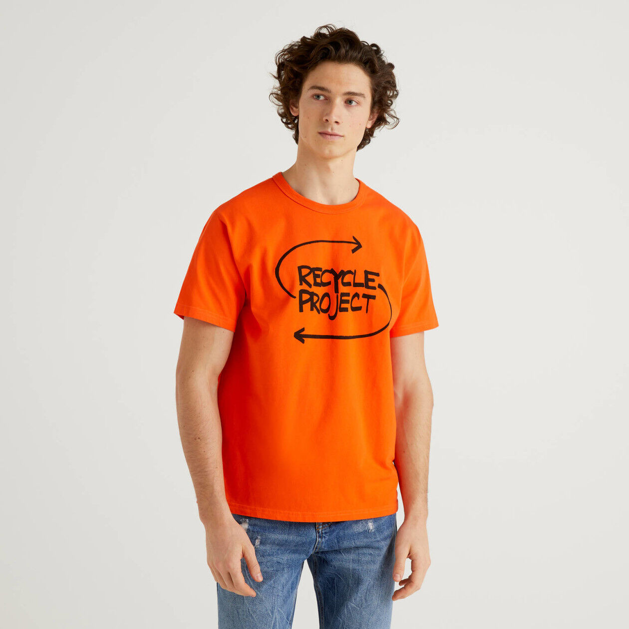 T-shirt από 100% οργανικό βαμβακερό με τύπωμα