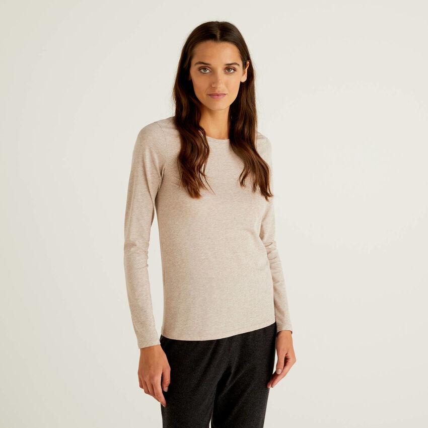 Long sleeve super stretch t-shirt