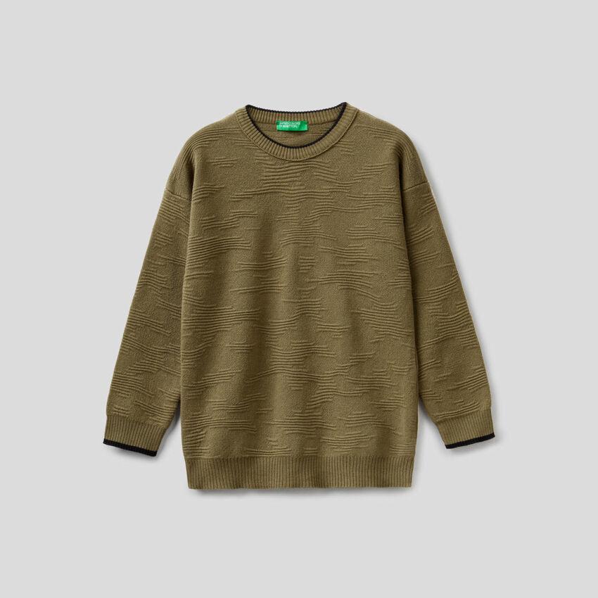 Μπλούζα πλεκτή από 100% βαμβακερό