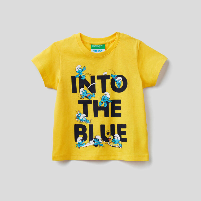 T-shirt με τύπωμα Τα Στρουμφάκια