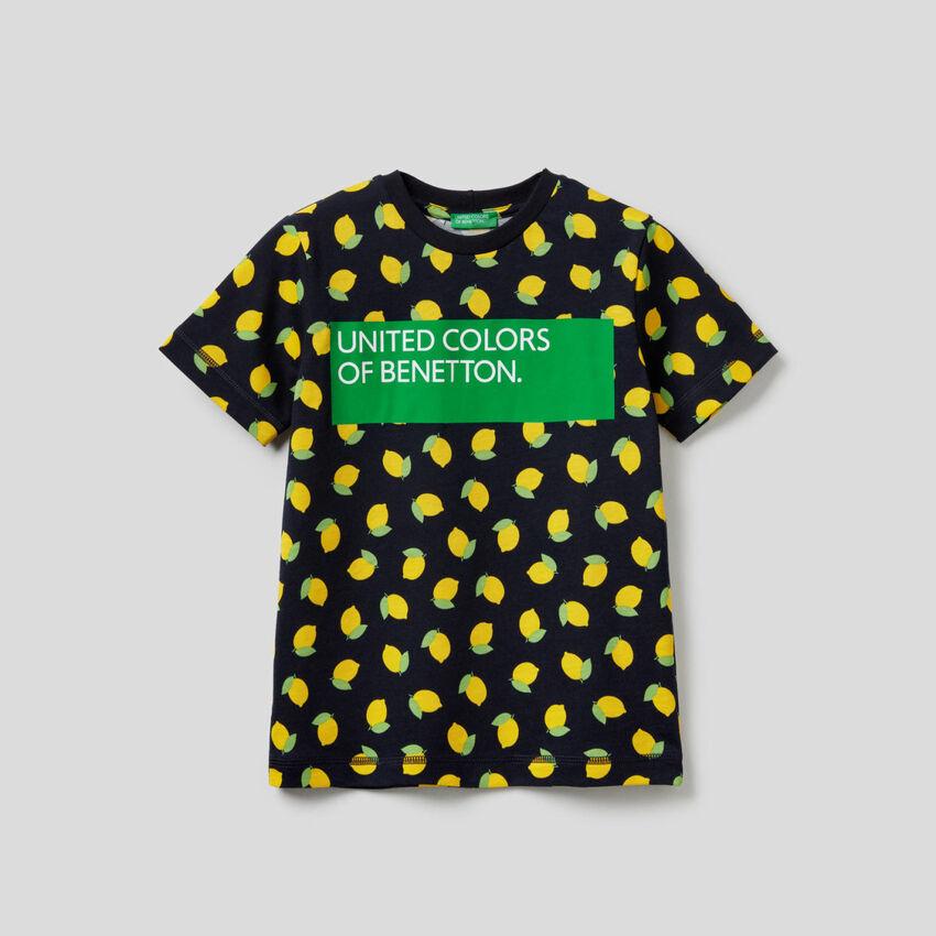 T-shirt με τυπώματα από 100% βαμβακερό