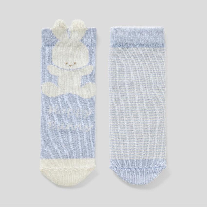 Σετ κάλτσες από ανάμεικτο οργανικό βαμβακερό