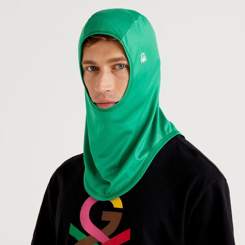 Hijab unisex πράσινο με λογότυπο by Ghali