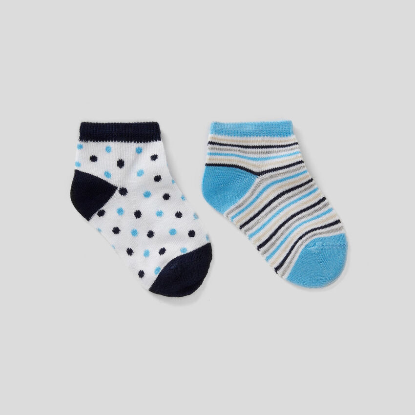 Set of patterned socks