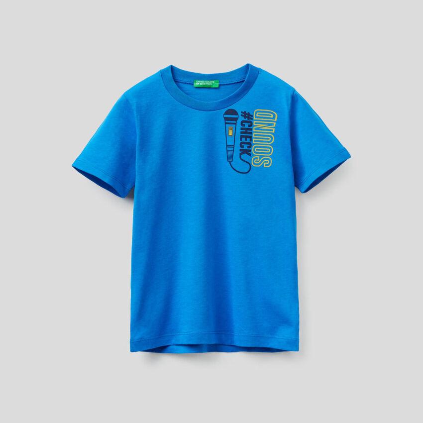 T-shirt κοντομάνικο από οργανικό βαμβακερό