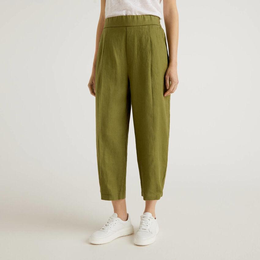Παντελόνι από αγνό λινό