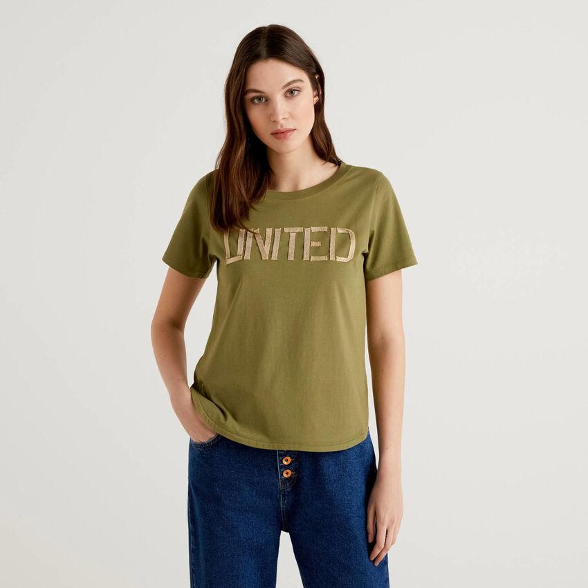 """T-shirt """"united"""" από 100% βαμβακερό"""