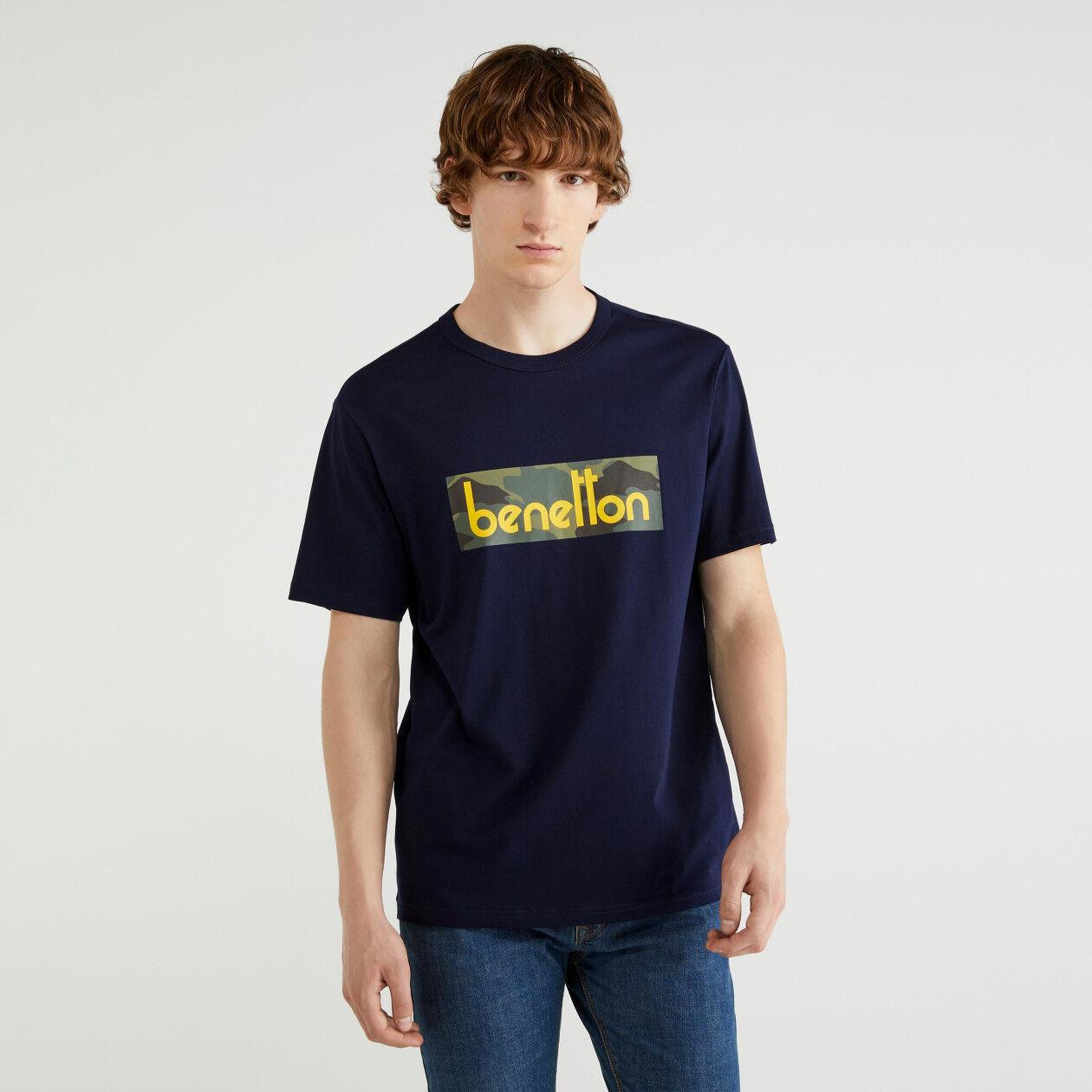 T-shirt με τύπωμα λογότυπο