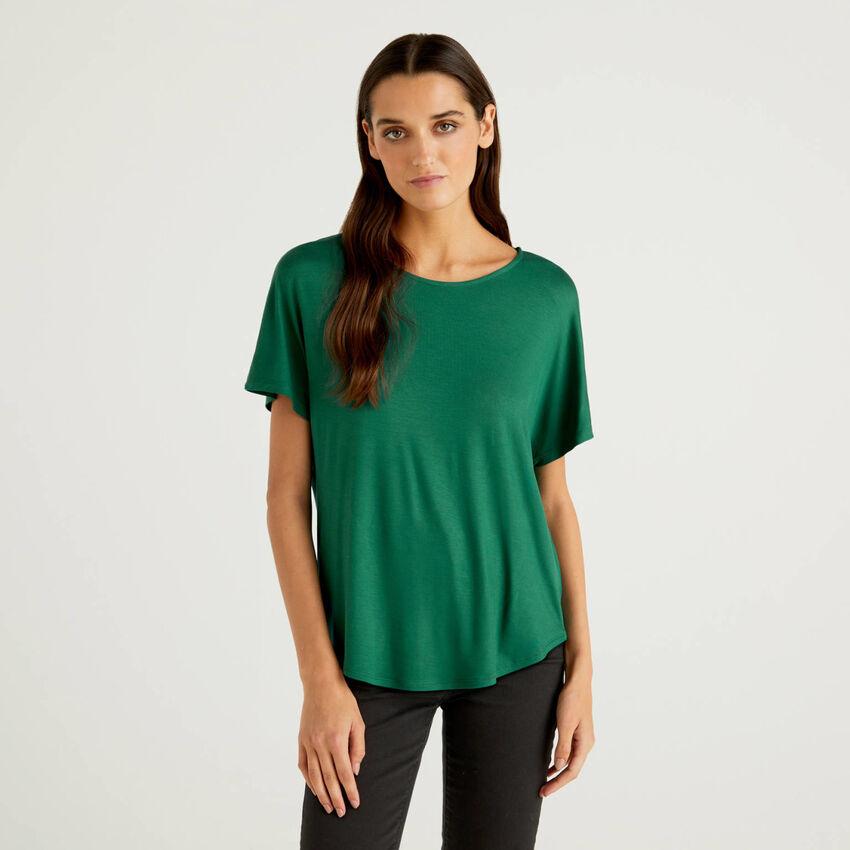 T-shirt από βιώσιμη βισκόζη stretch
