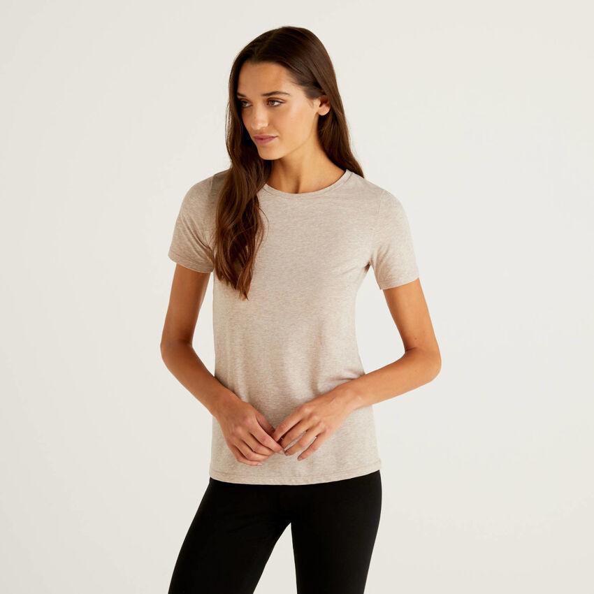 Super stretch organic cotton t-shirt