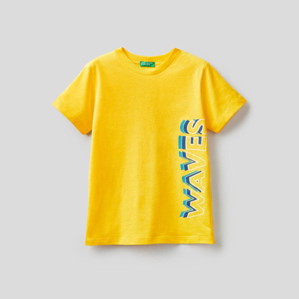 Μπλούζα από βαμβακερό με τύπωμα